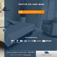 Wasserbett erstellen mit dem Online-Wasserbett-Konfigurator